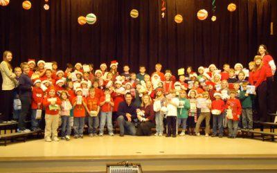 Broadford Elementary School 2nd Grade Blanket Drive